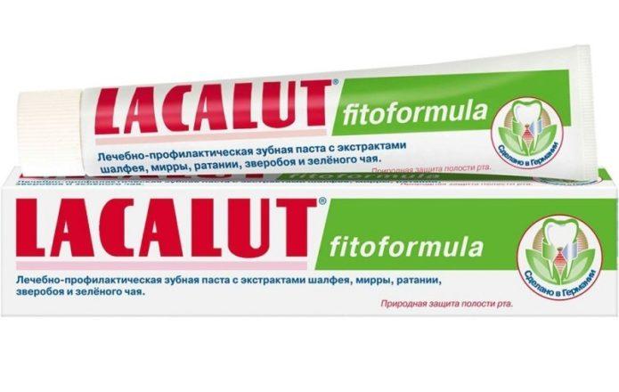 Lacalut fitoformula