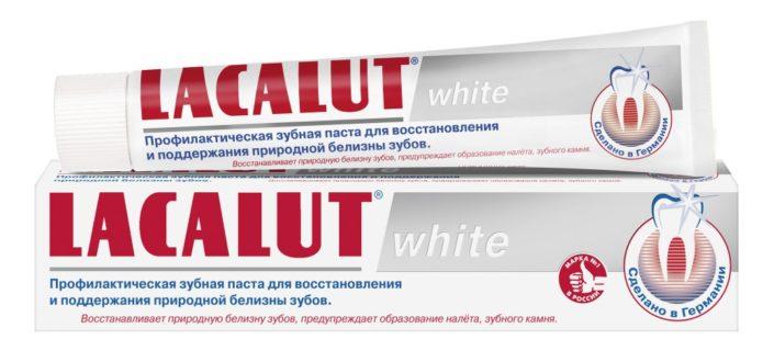Lacalut 흰색